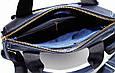 Сумка из натуральной кожи VATTO Mk41.2 F1Kаz600 темно-синяя, фото 9