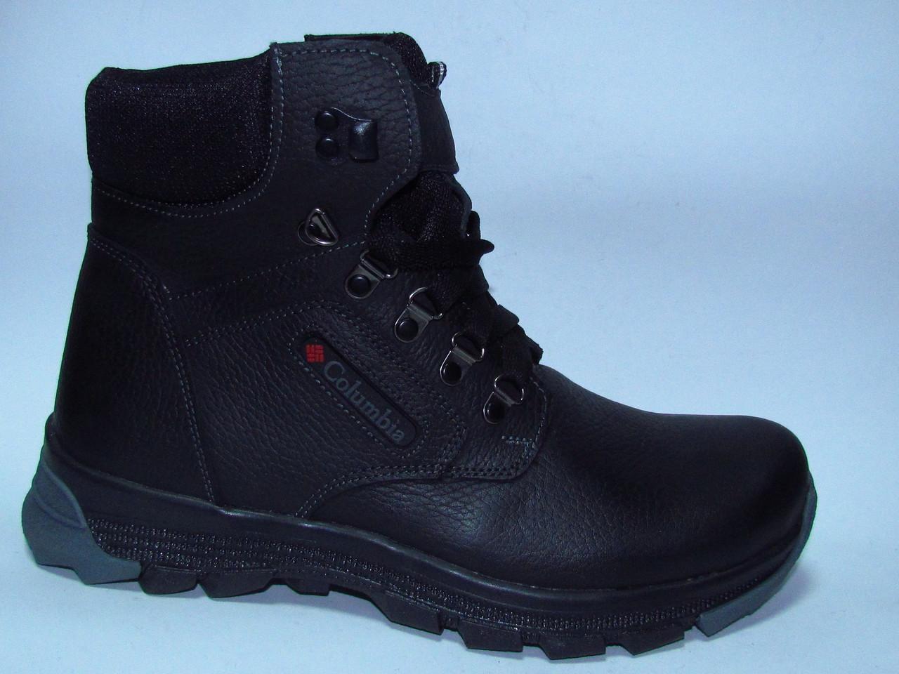 f608a0a4 Ботинки зимние мужские высокие кожаные - интернет-магазин ALLEGRETTO в  Харькове