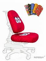 Чехол Panda ( XL ) ткань красная с пандой, для кресла Y-818 Mealux