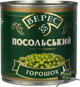 """Горошок зелений """"Посольський"""" Верес 420 г"""