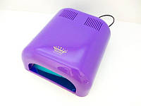 УФ лампа для сушки геля, гель-лака Master Professional MPL-300 на 36 Вт, сиреневая