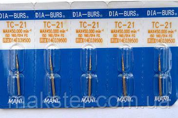 Алмазные боры MANI TC - 21, фото 2