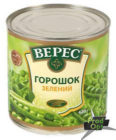 Горошок зелений ГОСТ Верес 420 г