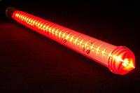 Гирлянда Метеоритный дождь «Тающие Сосульки» LED, 1 М Красная