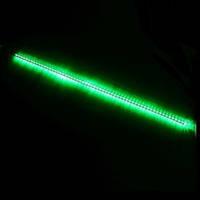 Гирлянда Метеоритный дождь «Тающие Сосульки» LED, 1 М Зеленая, фото 1