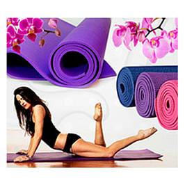 Килимки для фітнесу і йоги