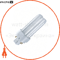 Osram КЛЛ 18W/830 G24q-2 люминесцентная компактная лампа для ЭПРА DULUX D/E OSRAM