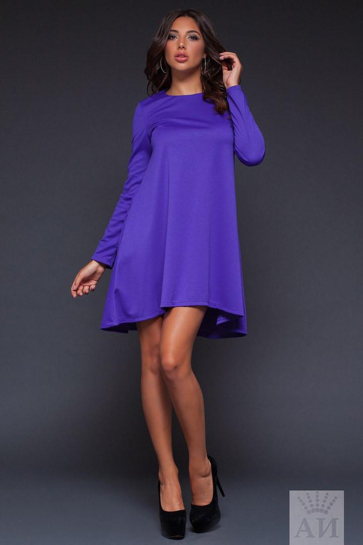 А1262 Платье ассиметричное