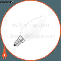 Osram Лампа накаливания свечка  CLAS B FR 60 W E14
