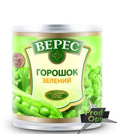 Горошок зелений із мозкових сортів Верес 200 г, фото 2