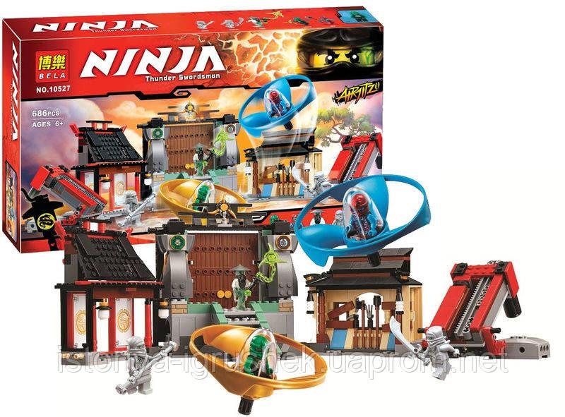 Детский конструктор Bela Ninja 10527 (аналог Lego Ninjago 70590) &quot