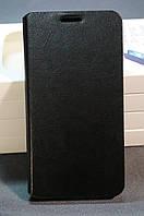 Чехол книжка для Samsung E7 Дополнительно можно приобрести защитную пленку или стекло на телефон   цвет черный