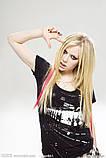 Цветные полоски - пряди для волос, фото 4