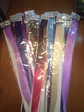 Цветные полоски - пряди для волос, фото 8