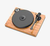 Pro-Ject Проигрыватели виниловых дисков Pro-Ject 2Xperience Classic SP (2M-Blue, Evo tonearm, CI Phono RCA-CC-1,23m) Olive