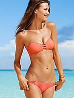 Купальник Victoria's Secret оригинал США, бандо, кораловый, фото 1