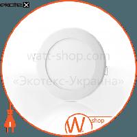 Евросвет Светильник LED-R-150-9 9Вт 6400К встраиваемый LED-R-150-9