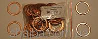 Шайба ( кольцо ) медная уплотнительная 30х38х1,5