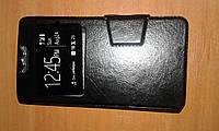 Чехол книжка слайдер с окном 4,5 дюйма универсальная