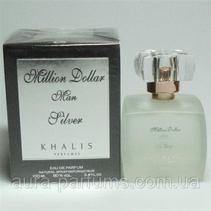 Khalis Million Dollar Silve Edp 100 Ml M оригинал продажа цена в