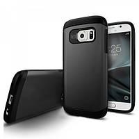Чехол SGP Slim Armor для Samsung Galaxy S7 черный, фото 1
