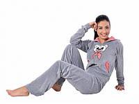 Пижама Arya женская на молнии c капюшоном Хлопок 13305
