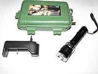 Фонарик Police 071 средний 20000W пластиковый коробок