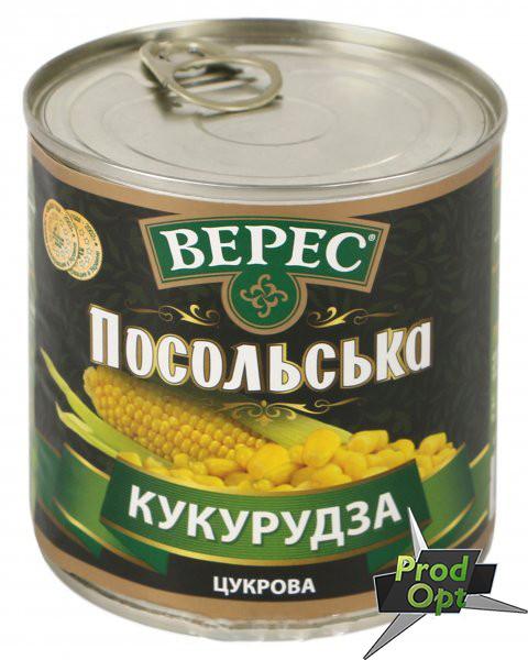 """Кукурудза """"Посольська"""" ГОСТ Верес 340 г"""