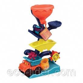 Набір для гри з піском та водою - МЛИН (в комплекті машинка, ведерце)