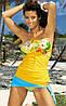 Красивый купальник-танкини M 151 LAURA (S-L в расцветках), фото 2