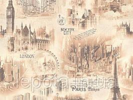 Шпалери дуплекс, місто, Лондон, Нью Йорк B66,4 Сіті 5166-02