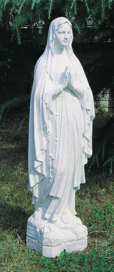 Скульптуры из бетона. Статуя  Мадонна Лурдская 130 см бетон