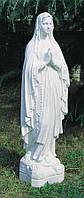 Скульптуры из бетона. Статуя  Мадонна Лурдская 130 см бетон, фото 1