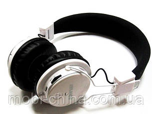 Наушники ATLANFA AT-7611 гарнитура с MP3 FM Bluetooth, белые, фото 3