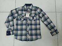 Рубашка в клеточку для мальчика