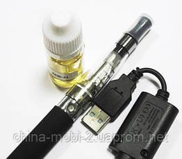Электронная сигарета UKC   EGO-CE4 650 mAh + заправка, black, фото 3