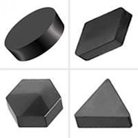 Пластина з кубічного нітриду бору (ПКНБ, PCBN, ельбор) d=19,05 мм h=7,96 мм