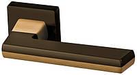 Дверные ручки RichArt R18H309 TBB/STBB/TBB-коричневая бронза/мат. коричневая бронза/коричневая бронза