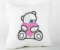 Подушка подарочная Тедди