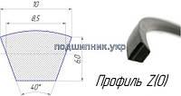 Ремень приводной клиновой Z(0) - 950 Ярославский завод РТИ