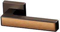 Дверные ручки RichArt R18H311 TBB/TBB/STBB-коричневая бронза/коричневая бронза/мат. коричневая бронза
