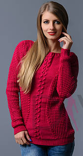 Вязаный турецкий свитер оптом