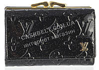 Красивый женский кожаный кошелек высокого качества art.LV-8432 A черный, фото 1