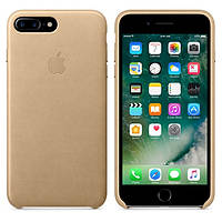 Чехол Apple iPhone 7 Plus Leather Case Tan (MMYL2ZM/A) Оригинал