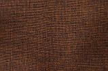 Коричневое кресло-мешок груша 100*75 см из микро-рогожки, фото 2