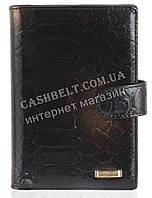 Стильная элитная лаковая кожаная документница высокого качества H.VERDE art. HV-107 A черный с переливом, фото 1