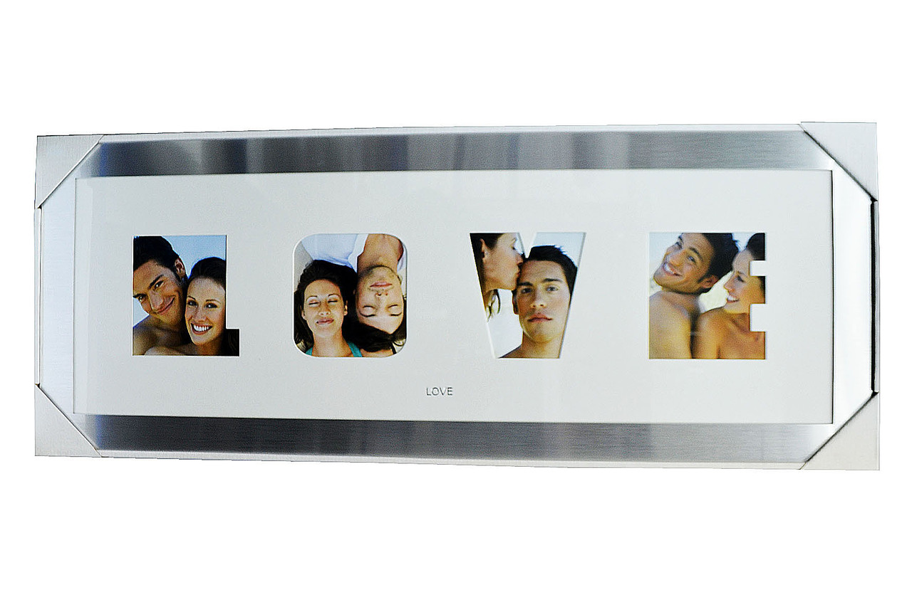Фоторамка на 4 фото — Металлическая