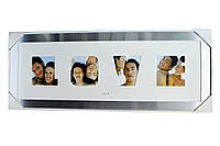 Коллаж для фото (рамки для фотографий на стену) Настольная металл. 2/8х8,1/7х11,1/7х6см.