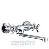Смеситель для кухни настенный ZEGOR DTZ 12 А827