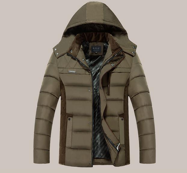 Мужской весенний пуховик. Мужская весенняя куртка Модель 915